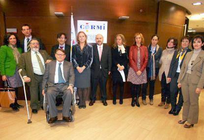 Foto de familia de la Comisión de Discapacidad