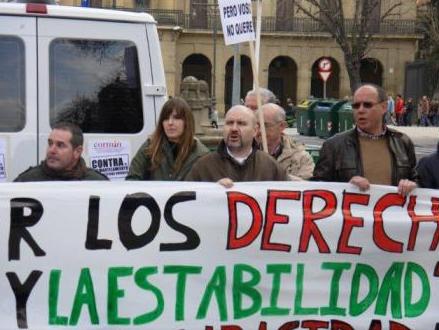 Imagen de la manifestación del CORMIN