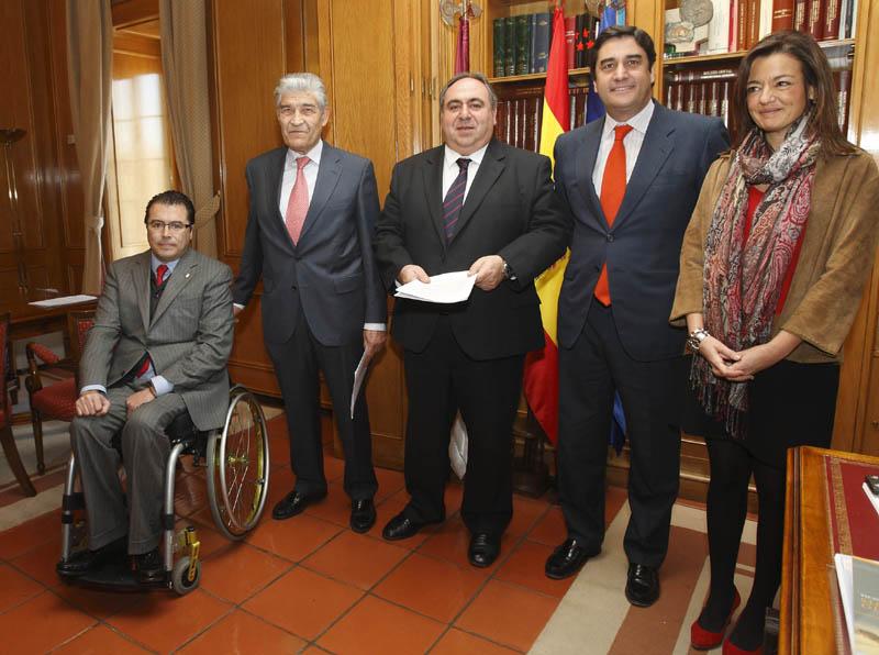 Echaniz presenta ante las Cortes la solicitud de creacion de la Comision de Discapacidad (imagen de la web de la Junta de Castilla La-Mancha)