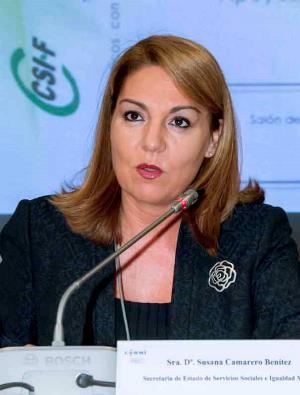 Susana Camarero, secretaria de Estado de Servicios Sociales e Igualdad
