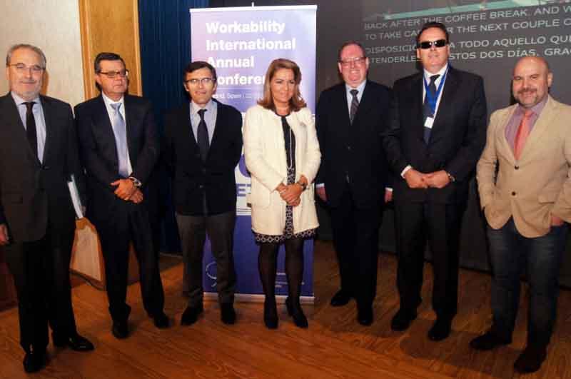 Foto de familia de la inauguración del Workability International Conference 2014