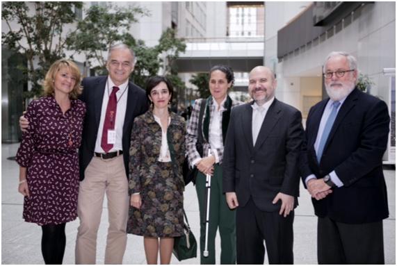 El CERMI traslada su agenda política al grupo popular europeo