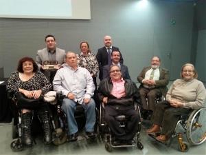 Entrega del Premio cermi.es 2014 a José María Ballesteros