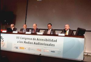 El CERMI en el VII Congreso Amadís del Centro Español del Subtitulado y la Audiodescripción (CEYSA)