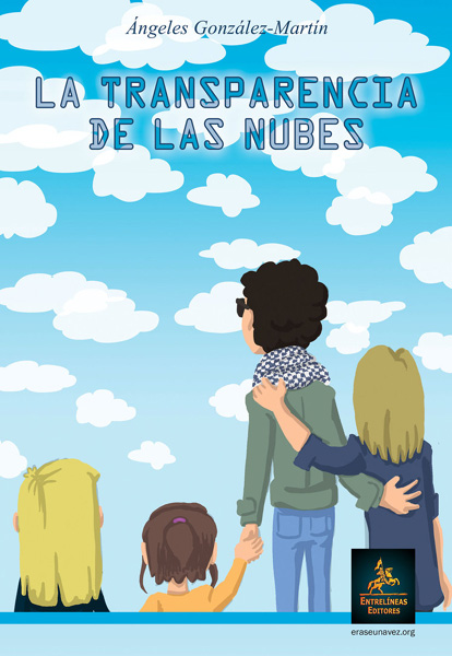 Portada de 'La transparencia de las nubes', de Ángeles González-Martín, escritora y madre de un muchacho con autismo