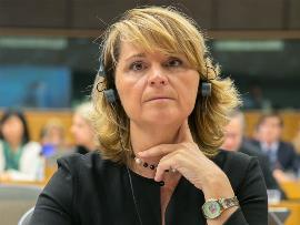 Rosa Estarás, diputada europea del Grupo Popular