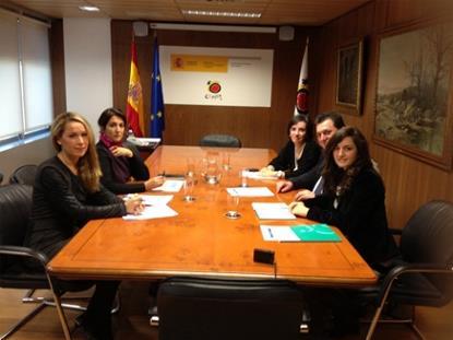 Reunión del CERMI con la Secretaria de Estado de Turismo