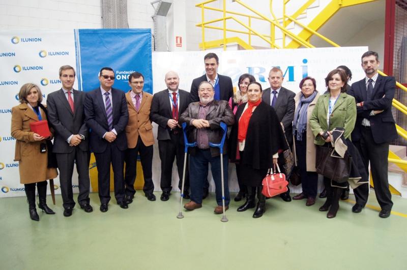 El CERMI demanda ante Pedro Sánchez un nuevo marco laboral para las personas con discapacidad
