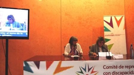 Jornada de sensibilización sobre Género y Discapacidad, celebrada en Pamplona