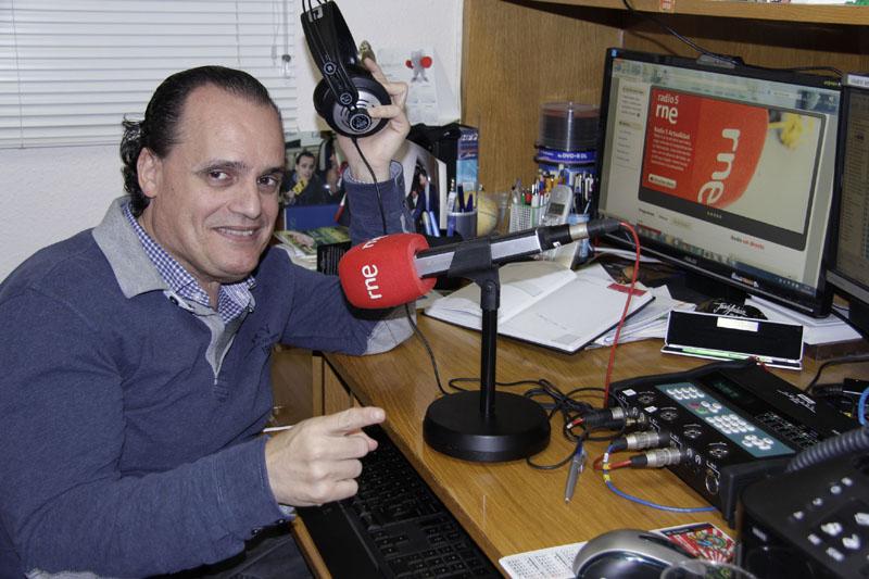 José Antonio Lagar, Informador en RNE Extremadura. Portavoz del Proyecto Grada y Presidente de la Fundación Primera Fila