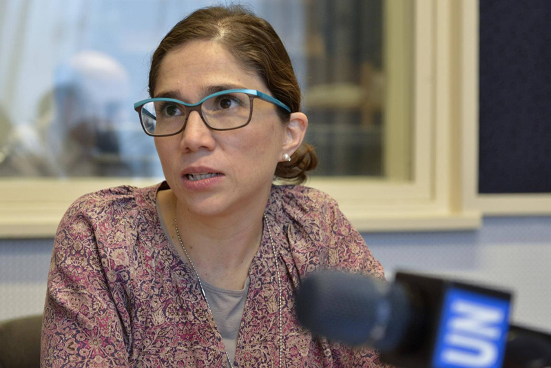 Catalina Devandas, relatora especial para los Derechos Humanos de las personas con discapacidad