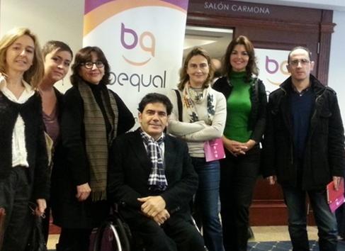 Acto de presentación del Modelo Bequal en Sevilla