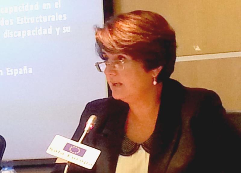 Pilar Morales, presidenta de CERMI Región de Murcia