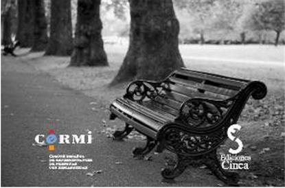 Imagen de un banco en un parquede la portada de una publicación del CERMI