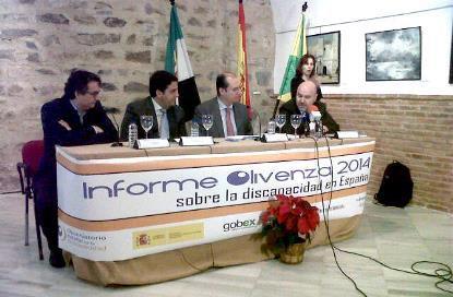 Informe Olivenza 2014: Retrato de la situación de la discapacidad en España