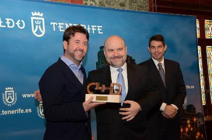 El Cabildo recibe el Premio Cermi.es 2014 por su trabajo en accesibilidad universal