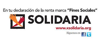 """Logotipo de la última campaña de la """"X Solidaria"""""""
