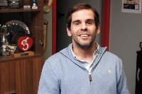 Álvaro Galán, presidente de la Federación Madrileña de Deporte de Parálisis Cerebral (Fmdpc), deportista paralímpico y psicólogo de Aspace
