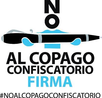 Logotipo de la campaña No al copago confiscatorio