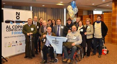 La discapacidad organizada exige que el copago sea regulado de manera igualitaria en todo el territorio estatal