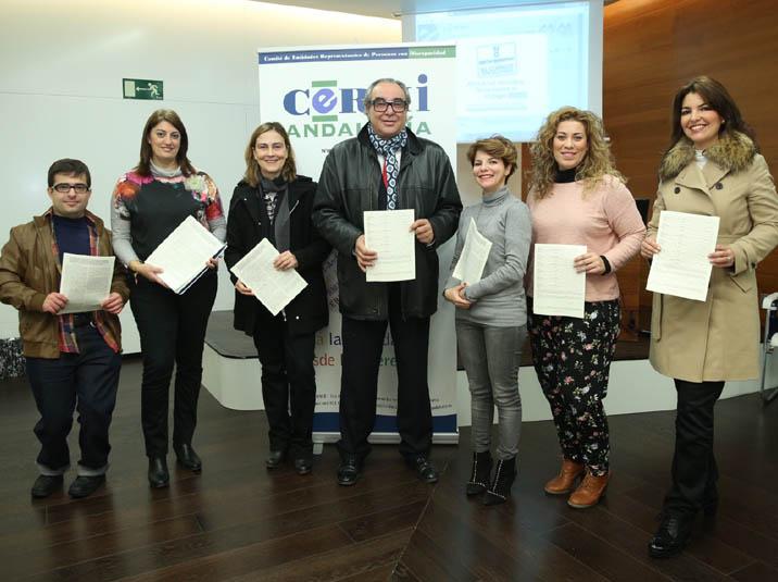 El CERMI Andalucía presenta la Iniciativa Legislativa Popular (ILP) para establecer criterios justos de copago en dependencia