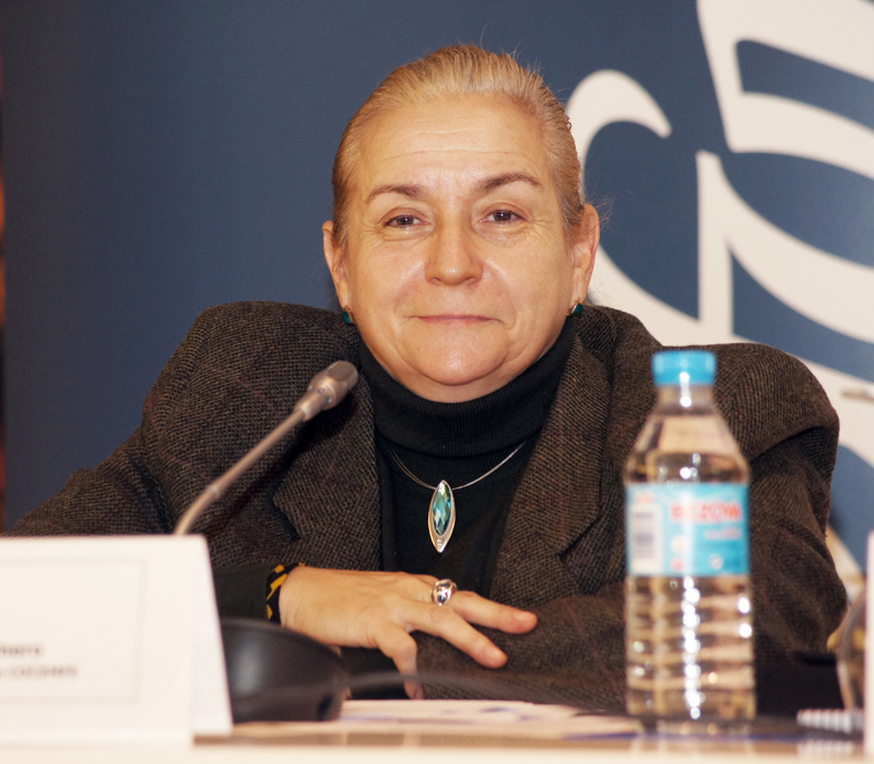 Roser Romero, presidenta de Cemudis