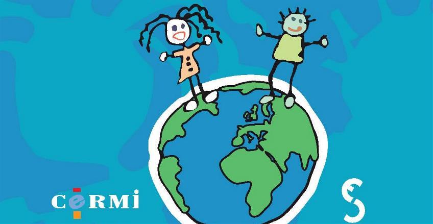 Detalle de la portada de 'Escuchando a los niños' de Ana Peláez, colección Cermi.es
