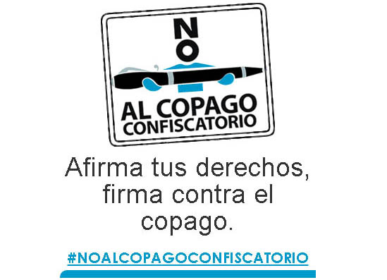 Logotipo 'No al copago'