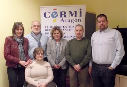 Nueva ejecutiva del CERMI-Aragón