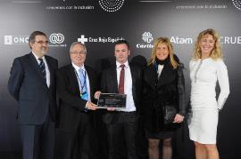 La autoescuela Irrintzi recibe el Premio Ability Award a la Mejor Pequeña Empresa Privada de 2015