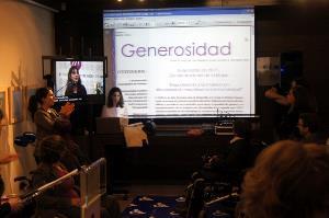 Presentación 'Generosidad', boletín infomativo de la Fundación CERMI Mujeres