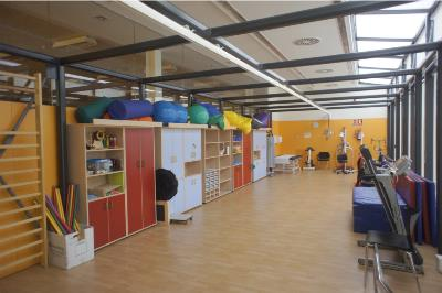 Sala de fisioterapia de CIM