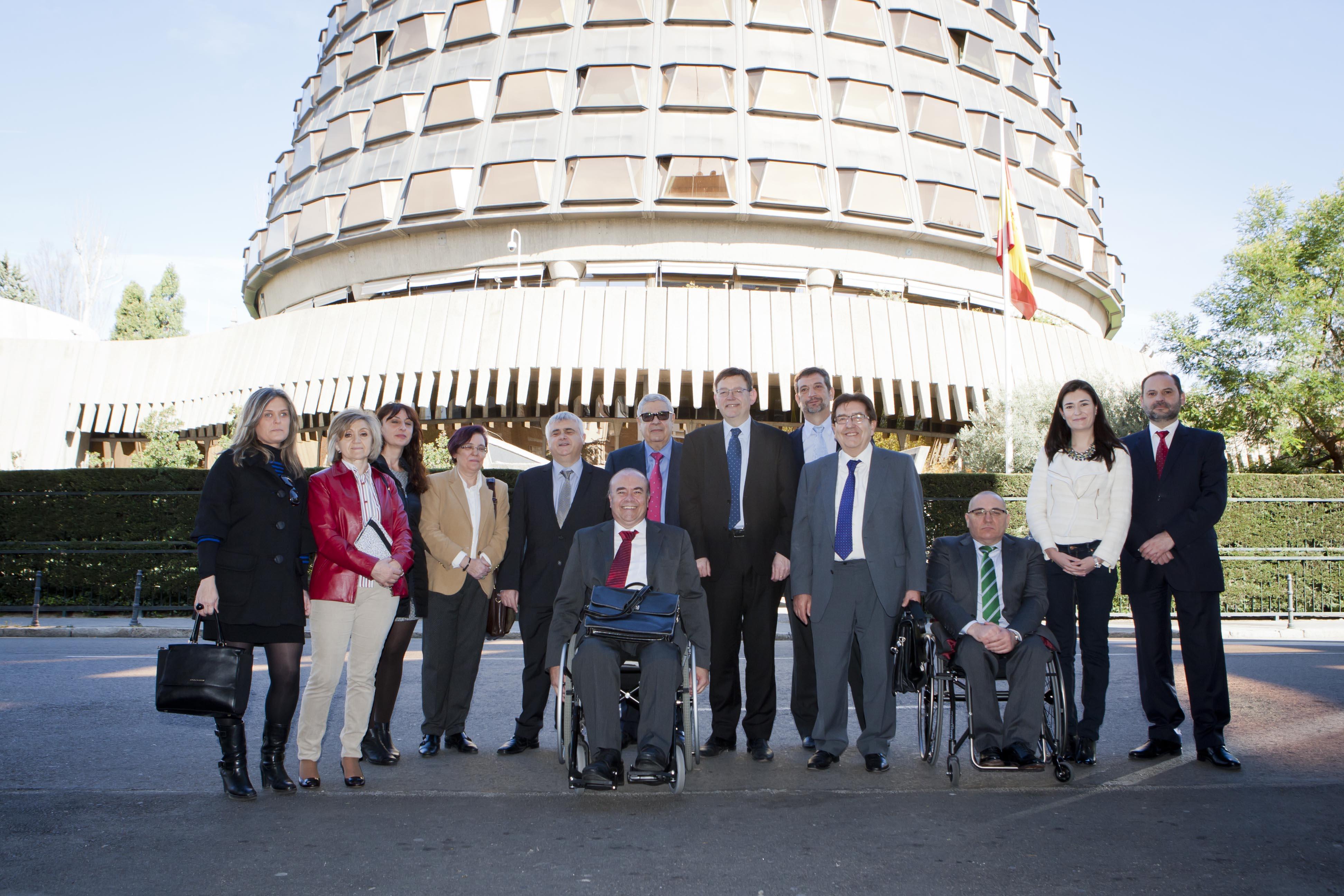 El CERMI apoya un recurso ante el Constitucional contra el copago en los servicios sociales valencianos