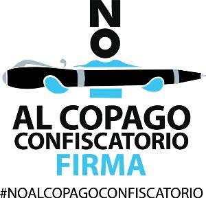 Logotipo de la campaña No al copago