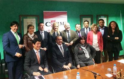 Cristina Cifuentes se reúne con el CERMI Comunidad de Madrid