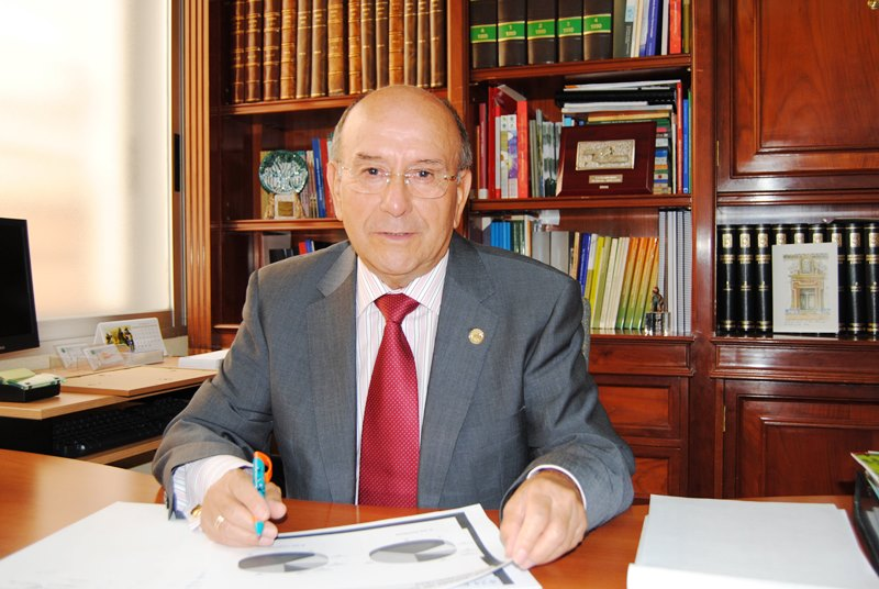 Luis Martín Pindado, presidente de UDP (Unión Democrática de Pensionistas y Jubilados de España)