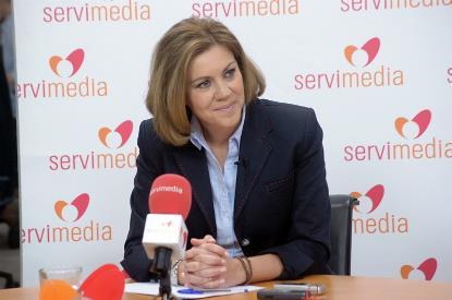 María Dolores de Cospedal, presidenta de Castilla-La Mancha y secretaria general del PP