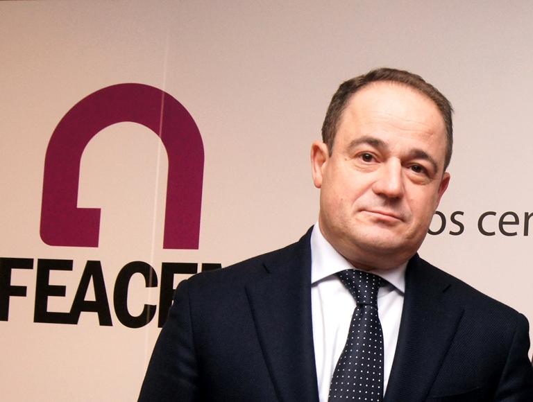 Emilio Sáez, presidente de Feacem (Federación Empresarial Española de Asociaciones de Centros Especiales de Empleo)