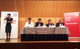 El candidato socialista a la Generalitat, Ximo Puig, dice que la primera medida de su Gobierno será derogar el copago