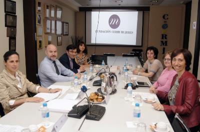 Reunión del patronato de la Fundación CERMI Mujeres