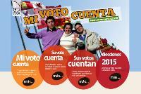 """Imagen de la campaña """"Mi voto cuenta"""""""