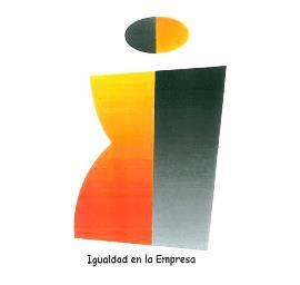 Logotipo del distintivo 'Igualdad en la empresa'
