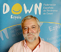 José Fabián Cámara Pérez, presidente de DOWN ESPAÑA