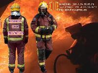 Cartel de los bomberos con discapacidad de Cataluña