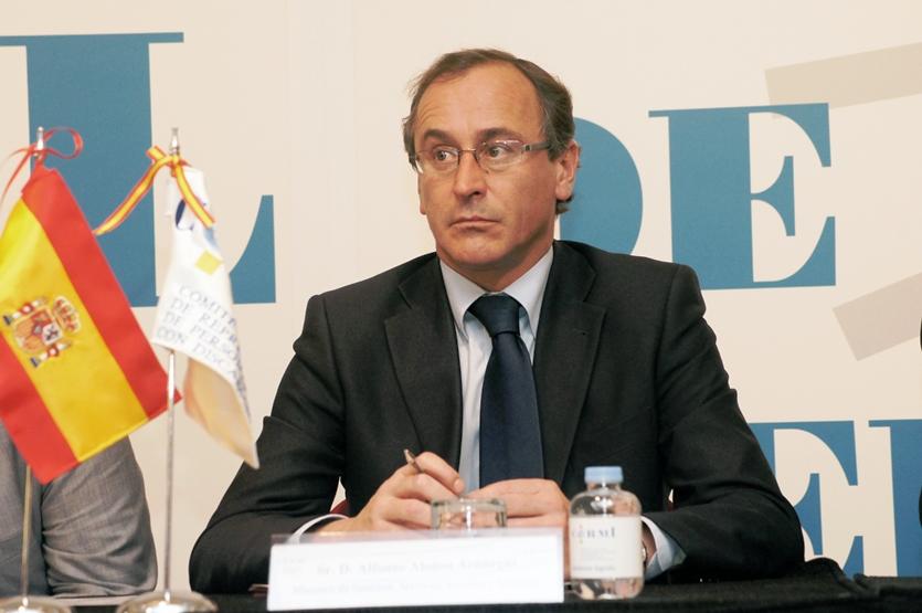Alfonso Alonso, ministro de Sanidad, Servicios Sociales e Igualdad