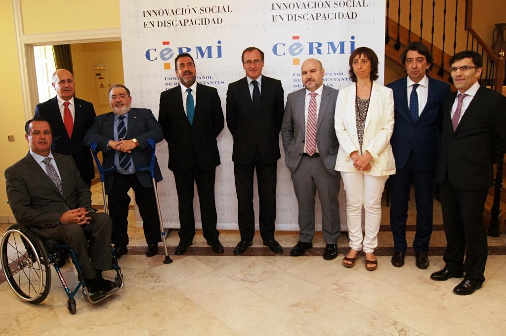 El ministro Alonso presidió la apertura de la Asamblea anual del CERMI