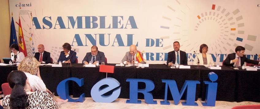 Asamblea Ordinaria de Representantes del CERMI del ejercicio 2015