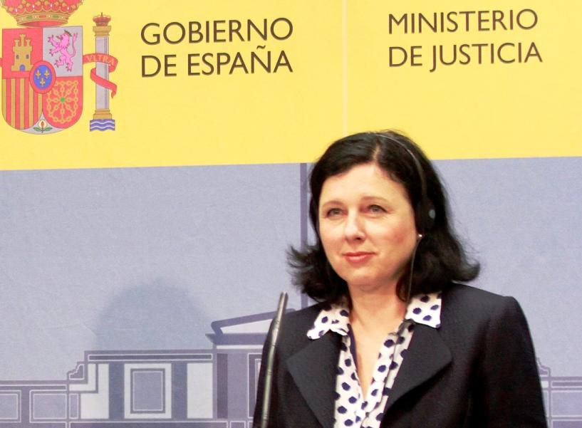 Vera Jourová, comisaria europea de Justicia, Consumidores e Igualdad de Género