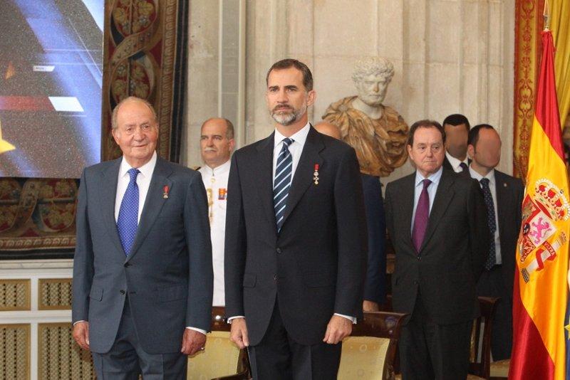 Acto institucional de celebración del 30 aniversario de la adhesión de España a la UE (© Casa de S.M. el Rey)