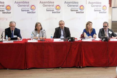 Asamblea general de la Plataforma del Tercer Sector